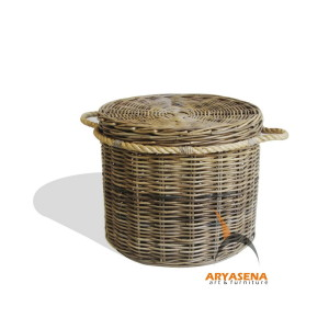 KBB 19 Round Laundry Box with Rope 61x61x45