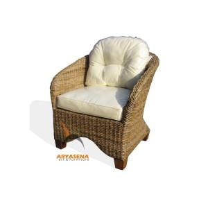 KBS 03A Veranda Arm Chair - Half Kubu