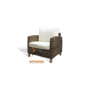 KBS 06A Monaco Arm Chair - Kubu Grey