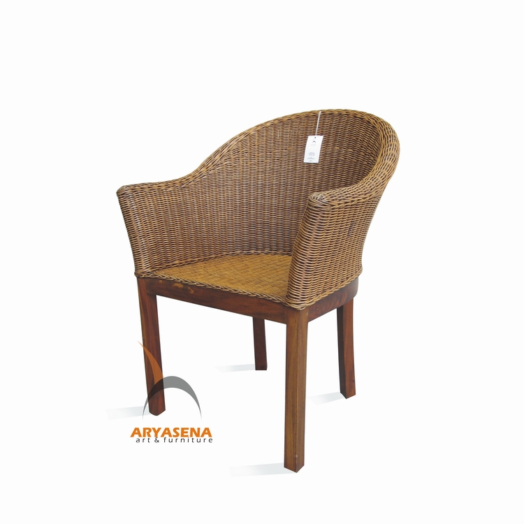 Skr 27 Dining Chair Rattan on Water Hyacinth Dining Chairs