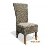 TN CH 03 - Banana Dining Chair with glaze black