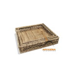 AL BS 07 - Albury Square Tray Set of 3