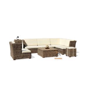 KBS 01F Hawai Sofa Set - Kubu Grey