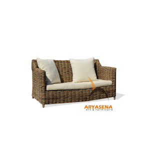 KBS 02A Ponte Sofa 2 Seater - Kubu Grey