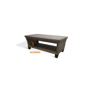 KBS 04C Bahary Coffee Table with Shelf for Magazine - Half Kubu
