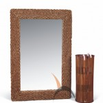 Water Hyacinth Mirrors